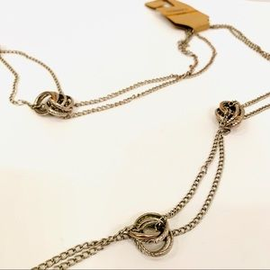 NWT G.H. Bass Co. Long Necklace